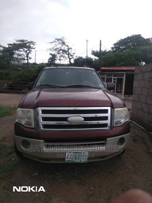 Ford Expedition 2007 Eddie Bauer 4x4 Red | Cars for sale in Lagos State, Ikeja