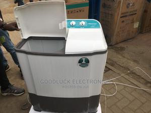 Hisense 5kg Double Tub Washing Machine 3kg Spinning | Home Appliances for sale in Lagos State, Ikeja