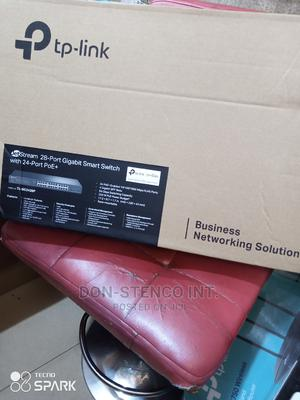 Tplink Jetstream 28port Gigabit Smart Switch+ 24port Poe   Networking Products for sale in Lagos State, Ikeja