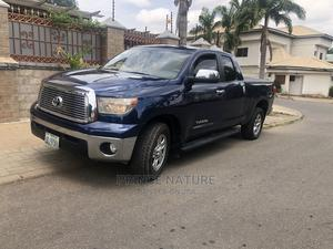 Toyota Tundra 2009 Double Cab 4x4 Limited Blue | Cars for sale in Abuja (FCT) State, Garki 2