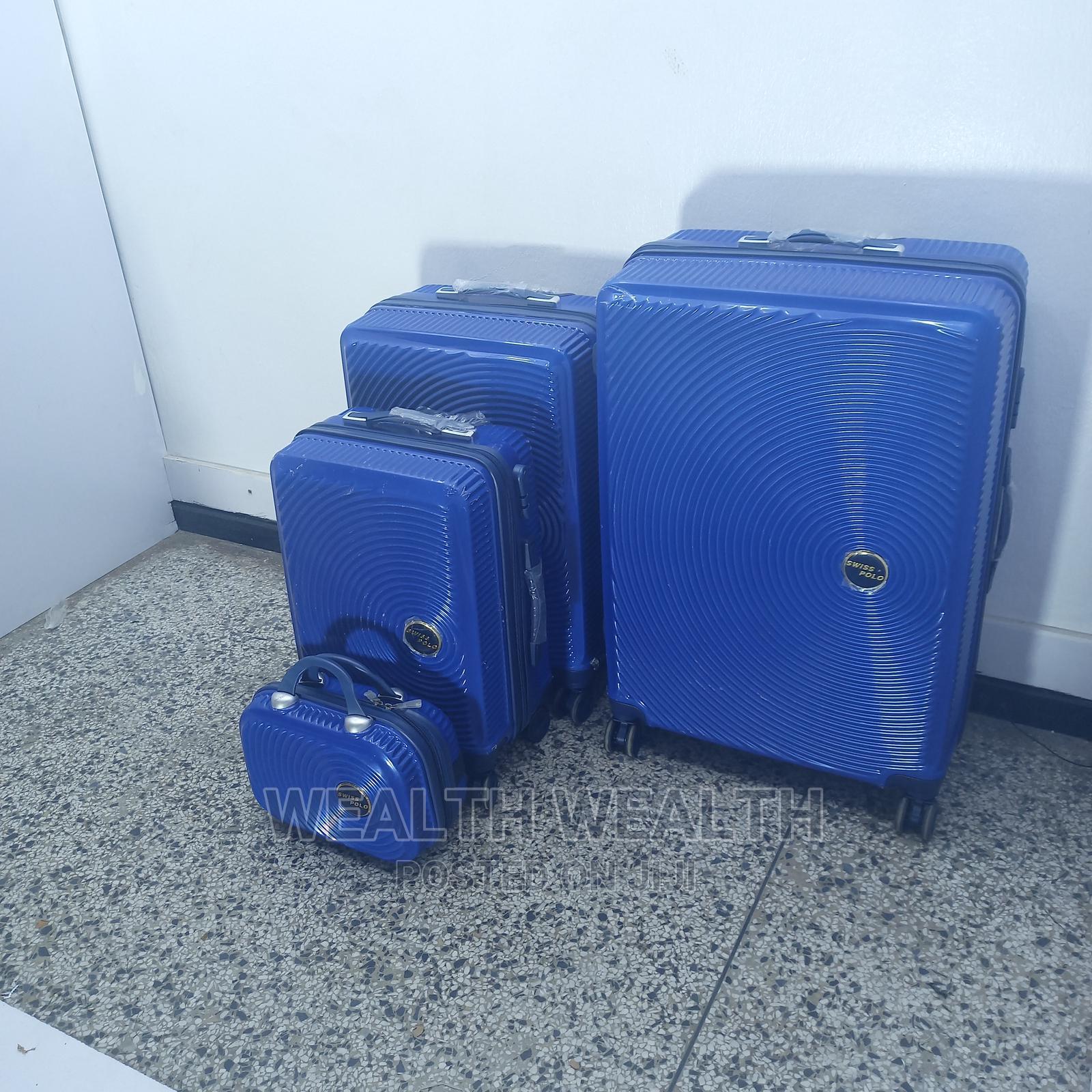Quality Plastic Swiss Polo Suitcase Luggage Box