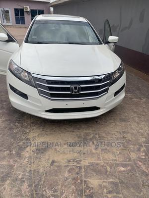 Honda Accord CrossTour 2010 EX-L AWD White   Cars for sale in Lagos State, Alimosho