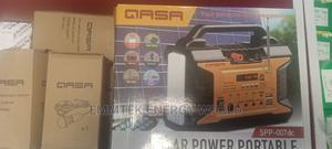 Qasa Solar Kit With 4 Bulbs, 30watt Panel, MP3, Radio, Etc   Solar Energy for sale in Anambra State, Onitsha