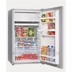 Hisense Single Door Fridge - 100L - REF100DR - Silver | Kitchen Appliances for sale in Lagos State, Ikeja