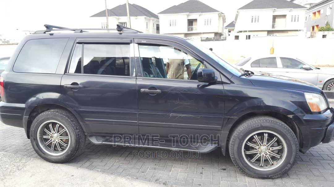 Honda Pilot 2005 EX 4x4 (3.5L 6cyl 5A) Black   Cars for sale in Surulere, Lagos State, Nigeria