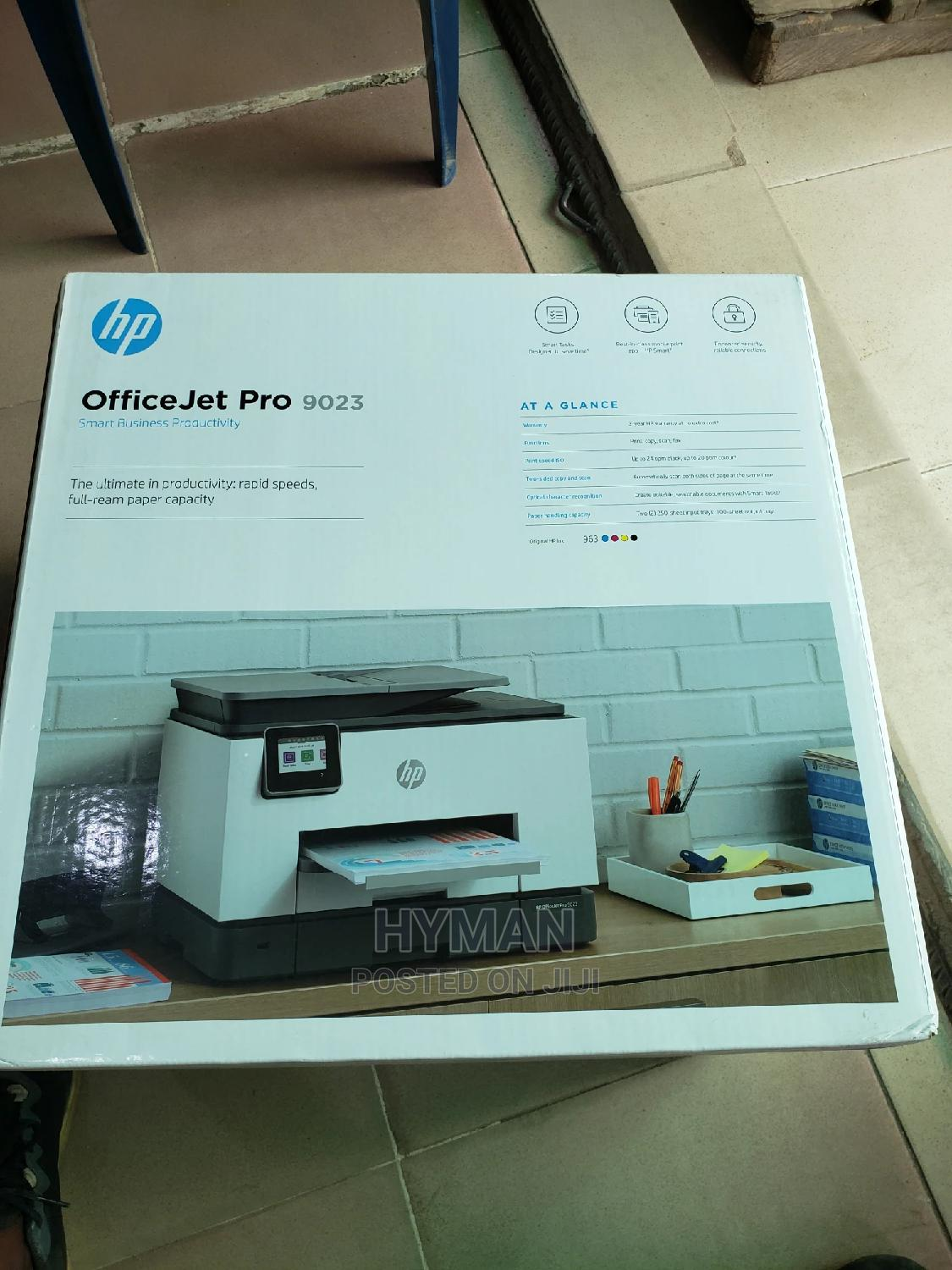 Hp Officejet Pro 9023 All-In-One Printer | Printers & Scanners for sale in Ikeja, Lagos State, Nigeria