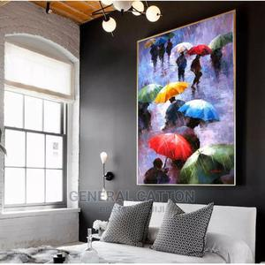 Abstract Wall Art Posters Prints Oil Painting on Canvas | Home Accessories for sale in Lagos State, Ikoyi