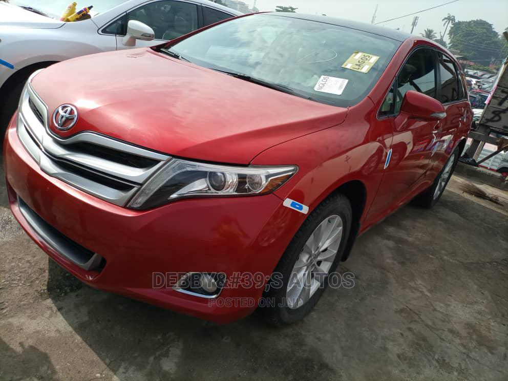 Toyota Venza 2014 Red   Cars for sale in Apapa, Lagos State, Nigeria