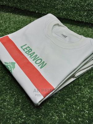 100% Custom Cotton T-Shirt | Clothing for sale in Lagos State, Yaba