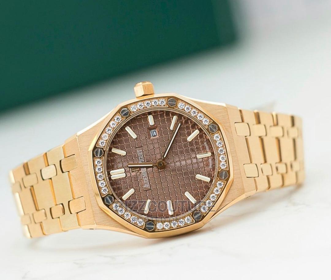 High Quality Audemars Piguet Gold Female Watch