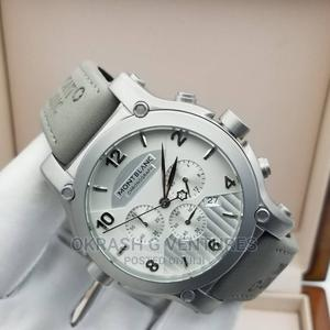 Montblanc Chronograph Arch Leather Strap Watch | Watches for sale in Lagos State, Lagos Island (Eko)