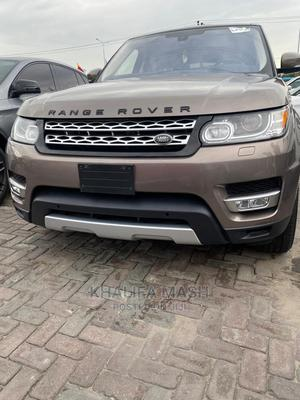 Land Rover Range Rover Sport 2016 HSE 4x4 (3.0L 6cyl 8A) Gold   Cars for sale in Lagos State, Lekki