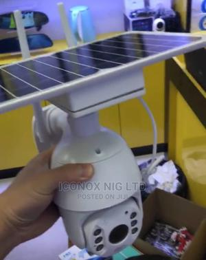 4G Solar Battery Powered Camera Outdoor PTZ Camera   Security & Surveillance for sale in Lagos State, Ikeja