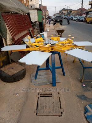 Fabricated Screen Printing Machine | Printing Equipment for sale in Lagos State, Mushin