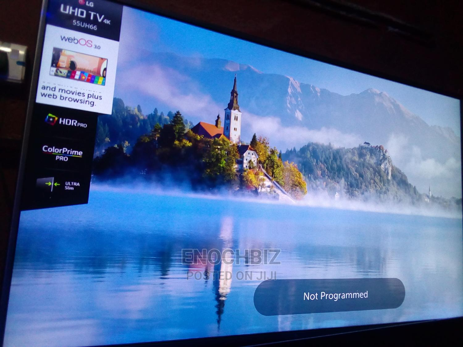 55 Inches LG Smart TV