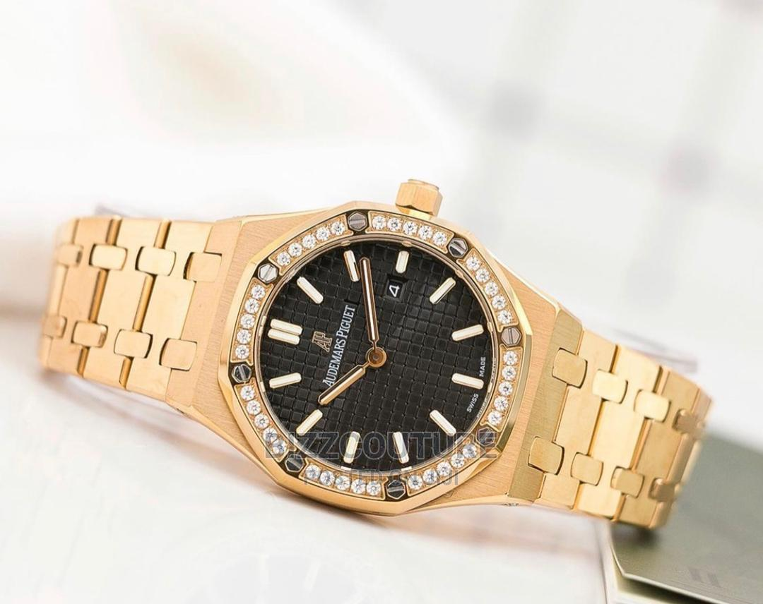 High Quality Audemars Piguet Gold Female Watch | Watches for sale in Maitama, Abuja (FCT) State, Nigeria