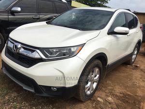 Honda CR-V 2018 LX AWD White | Cars for sale in Lagos State, Ejigbo