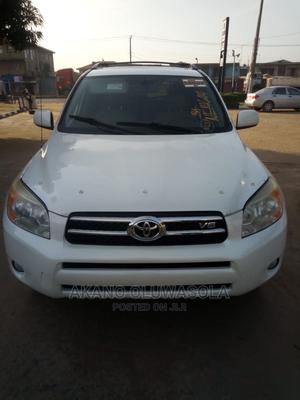 Toyota RAV4 2008 Limited V6 4x4 White | Cars for sale in Lagos State, Alimosho