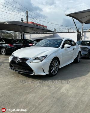 Lexus RC 2016 350 RWD White | Cars for sale in Lagos State, Ikeja