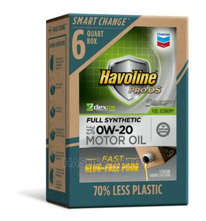 Havoline Engine Oil 6ltrs 0w-20.   Automotive Services for sale in Lagos State, Gbagada