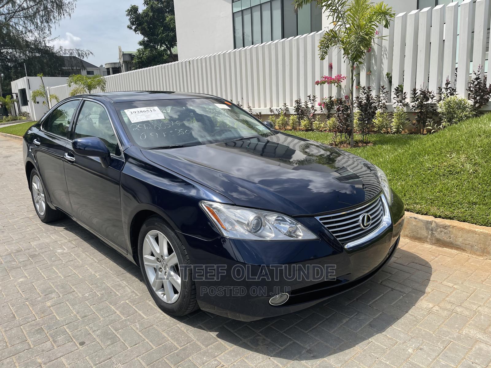 Lexus ES 2009 350 Blue   Cars for sale in Ikoyi, Lagos State, Nigeria