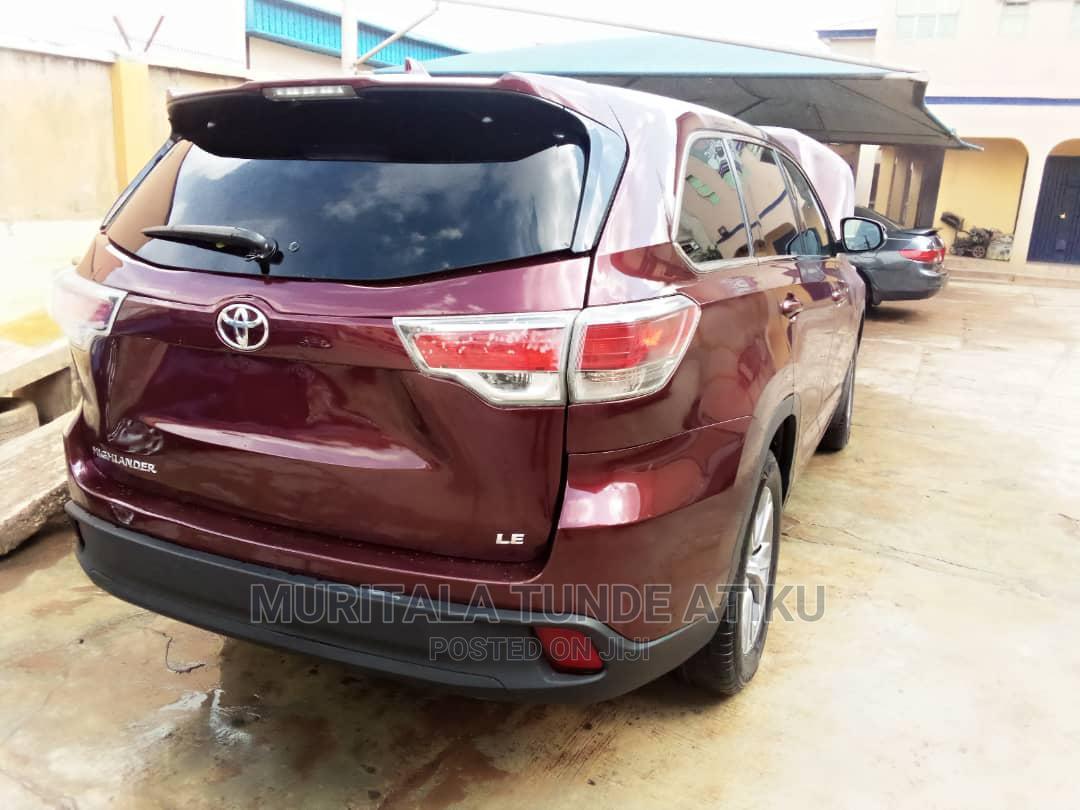 Toyota Highlander 2016 Brown