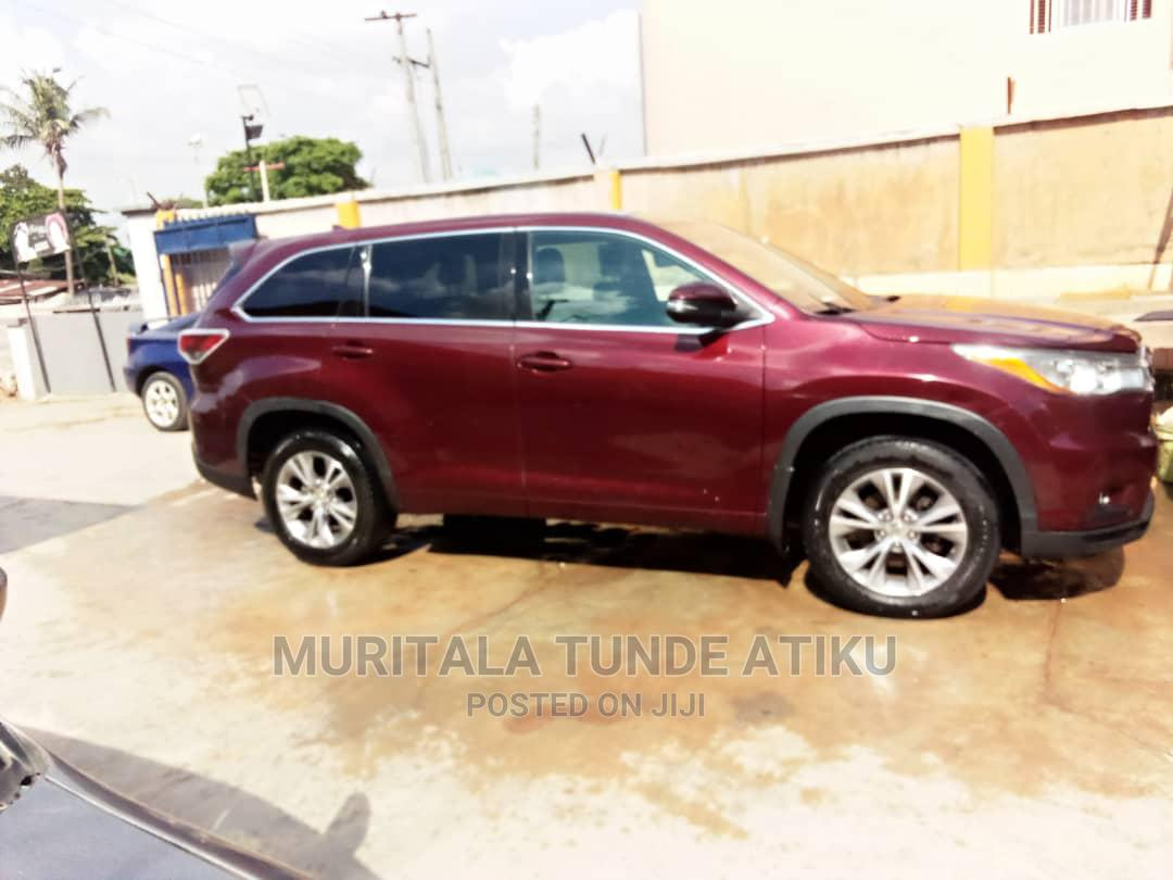 Toyota Highlander 2016 Brown | Cars for sale in Egbe Idimu, Lagos State, Nigeria