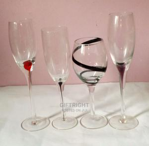 Wine Glasses (25 Packs for Bulk Sale)+ Free Juice Extractor | Kitchen & Dining for sale in Lagos State, Agege