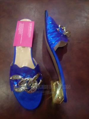 Women's Original Blue Italian Slippers | Shoes for sale in Lagos State, Surulere