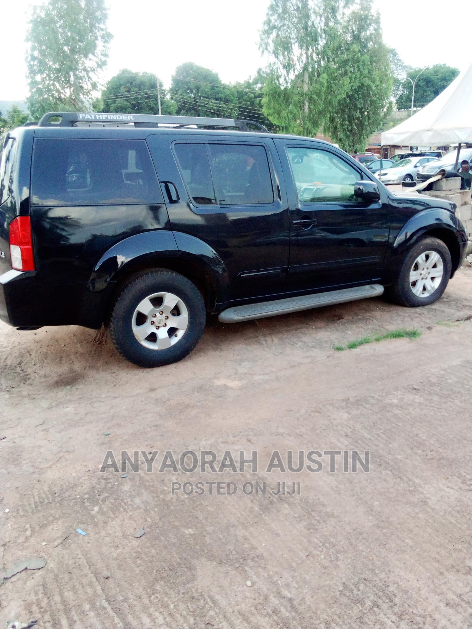 Archive: Nissan Pathfinder 2006 Black