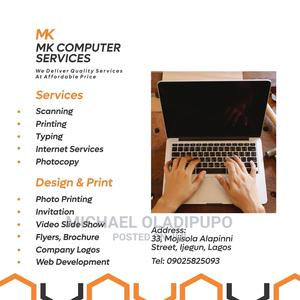 Web and Graphics Designs | Computer & IT Services for sale in Lagos State, Isolo