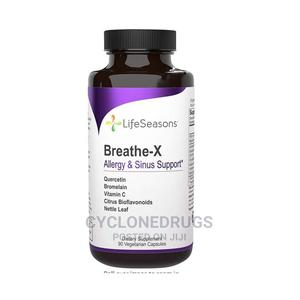Life Seasons Breathe-X Fast Acting Allergy Sinus and Nasal | Vitamins & Supplements for sale in Lagos State, Amuwo-Odofin