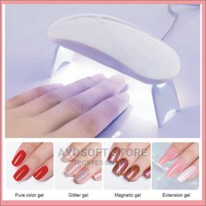 6W White Nail Dryer Machine UV LED Lamp Portable Micro USB   Tools & Accessories for sale in Ondo State, Akure