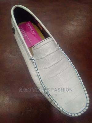 White Italian Leather Loafers for Men | Shoes for sale in Lagos State, Surulere