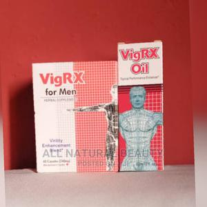 Vigrx Capsule and Oil for Penis Enlargement   Sexual Wellness for sale in Lagos State, Egbe Idimu