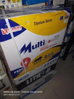 Multipower 220ah 12V Tubular Battery | Solar Energy for sale in Lagos State, Ojo