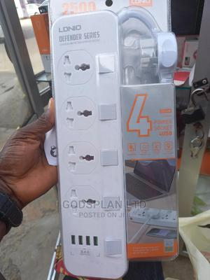Ldnio Power 4 Universal Socket With 4 USB Output 3.4A 2500W   Home Appliances for sale in Lagos State, Ikeja