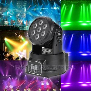 Mini Moving Head Beam Light 7×10w Full Color | Stage Lighting & Effects for sale in Lagos State, Ojo