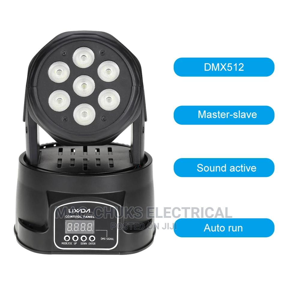 Mini Moving Head Beam Light 7×10w Full Color   Stage Lighting & Effects for sale in Ojo, Lagos State, Nigeria