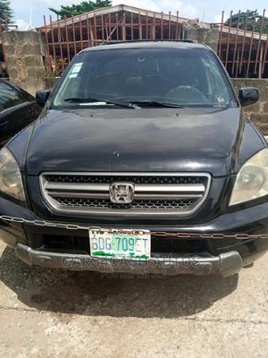 Honda Pilot 2004 EX 4x4 (3.5L 6cyl 5A) Black | Cars for sale in Lagos State, Isolo