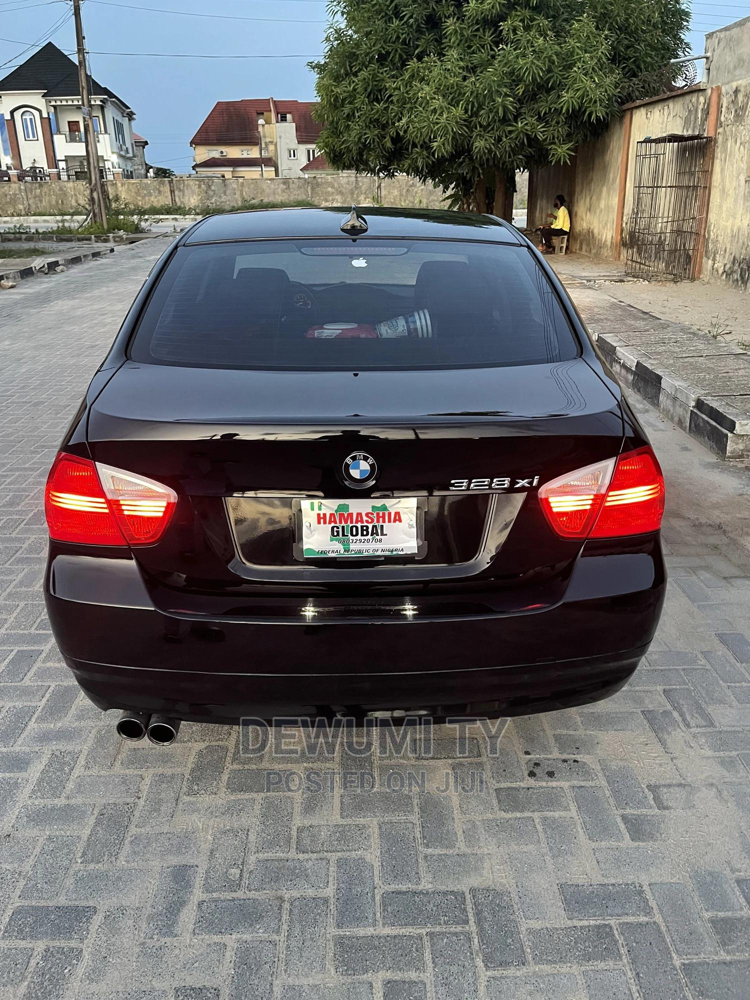 BMW 328i 2008 Black   Cars for sale in Ajah, Lagos State, Nigeria