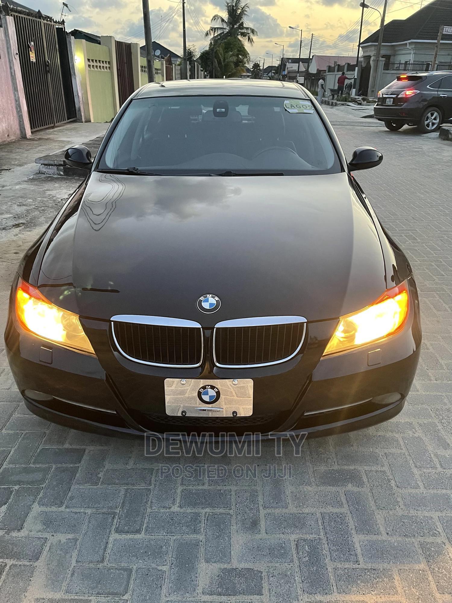 BMW 328i 2008 Black