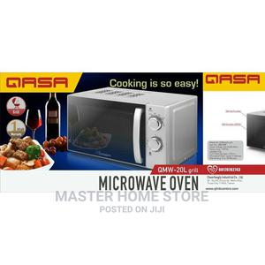 Qasa 20 Litres Microwave Oven With Grill | Kitchen Appliances for sale in Lagos State, Lagos Island (Eko)
