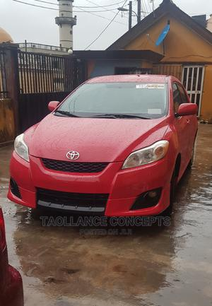 Toyota Matrix 2009 Red | Cars for sale in Lagos State, Alimosho