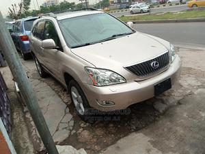 Lexus RX 2007 350 Gold | Cars for sale in Lagos State, Ilupeju