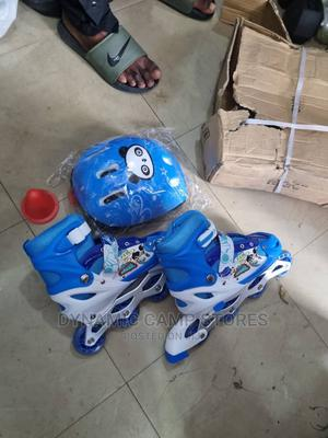 Children'S Skateshoe With Helmet, Guard and Training Cones | Sports Equipment for sale in Lagos State, Surulere