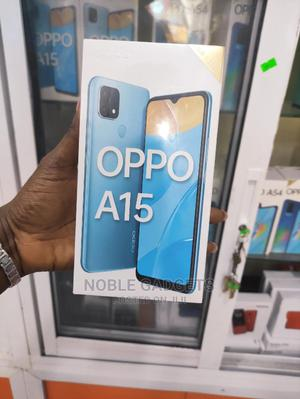 New Oppo A15 32GB Blue   Mobile Phones for sale in Lagos State, Ikeja