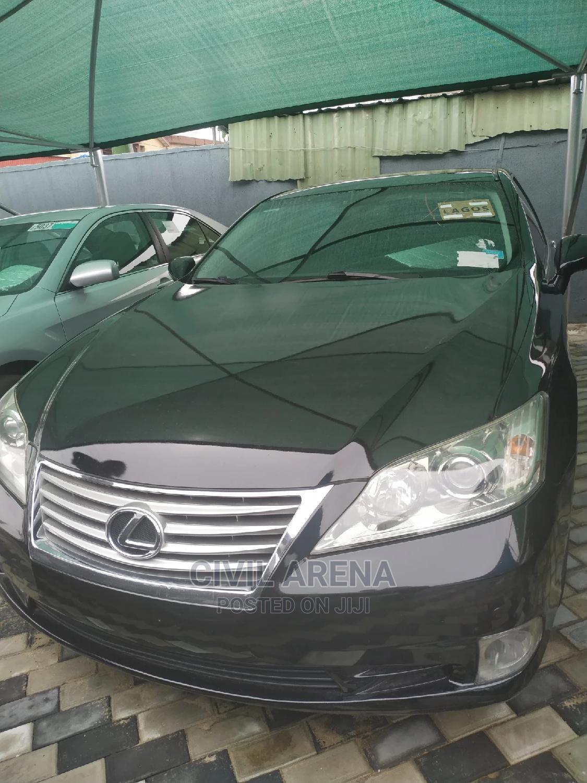 Lexus ES 2011 350 Black