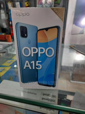 New Oppo A15 32GB Blue | Mobile Phones for sale in Rivers State, Port-Harcourt