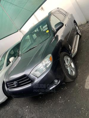 Toyota Highlander 2008 Limited 4x4 Gray   Cars for sale in Lagos State, Ikeja